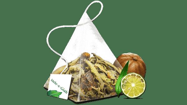 دمنوش لیمو مهرگیاه 2