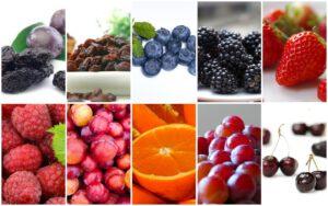 سبزیجات حاوی انتی اکسیدان