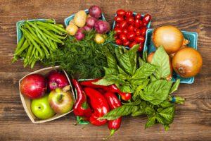 میوه جات و سبزیجات دارای آنتی اکسیدان