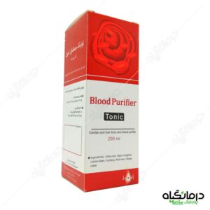 شربت تصفیه خون به روش سنتی